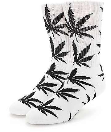 HUF Plantlife calcetines en blanco y negro