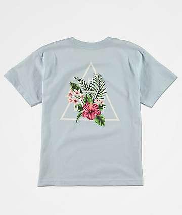 HUF Tropical camiseta azul claro para niños