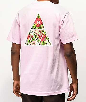 HUF Tropics camiseta rosa
