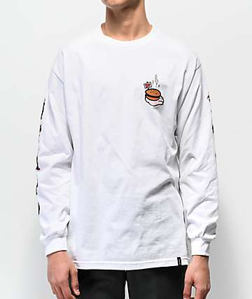 HUF x Popeye Wimpy White Long Sleeve T-Shirt