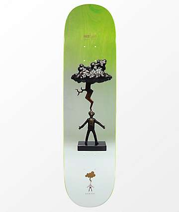 "Habitat Janoski Inlightningment 8.0"" Skateboard Deck"