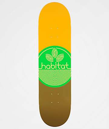 "Habitat Leaf Dot 8.25"" Skateboard Deck"