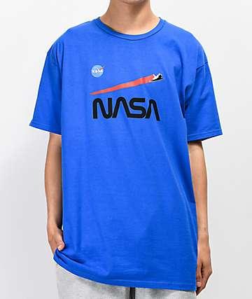 Habitat x NASA Shuttle Flight Blue T-Shirt