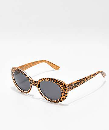 Happy Hour Beach Party Cheetah Sunglasses