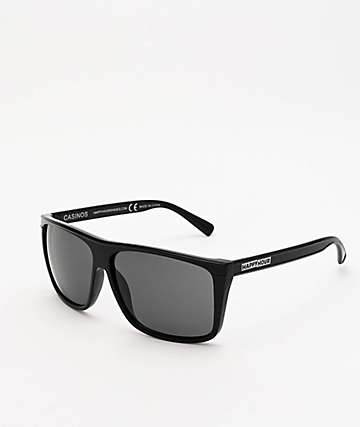 Happy Hour Casino Black Gloss Sunglasses