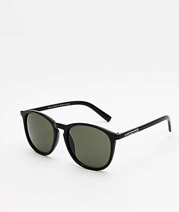 Happy Hour Flap Jack Gloss Black Sunglasses