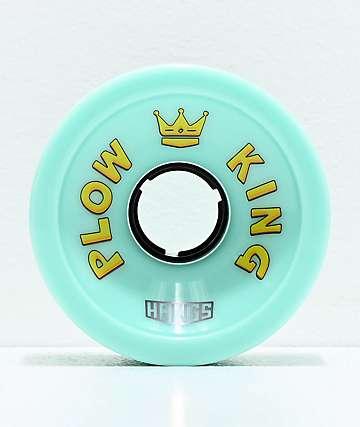 Hawgs Plow King 72mm 78a ruedas de longboard azul océano
