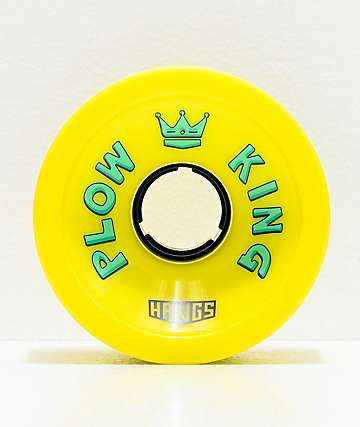 Hawgs Plow King Flat Banana 72mm 78a Longboard Wheels