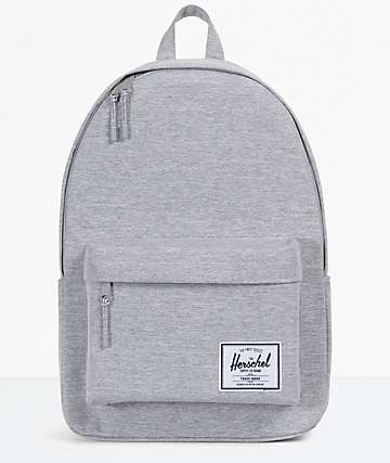 Herschel Classic XL Light Grey Backpack