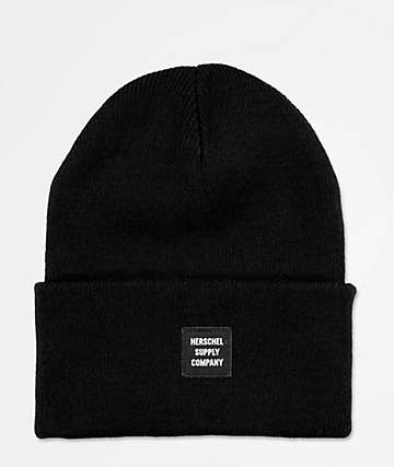Herschel Supply Co. Abbot Black Beanie