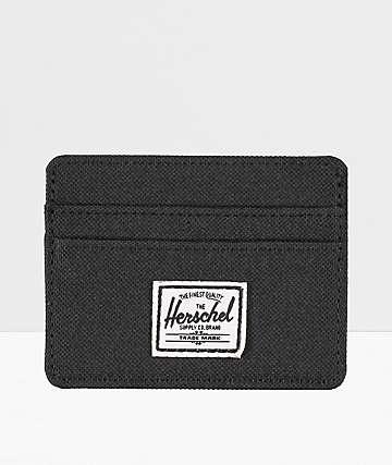 Herschel Supply Co. Charlie Black Cardholder Wallet