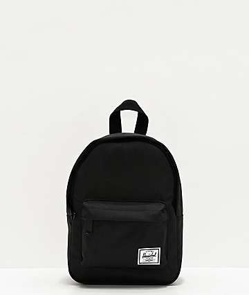 Herschel Supply Co. Classic Black Mini Backpack