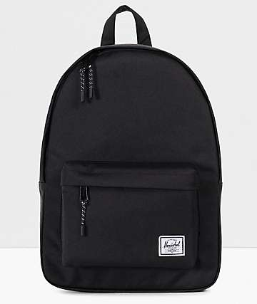 Herschel Supply Co. Classic Mid-Volume Black Backpack