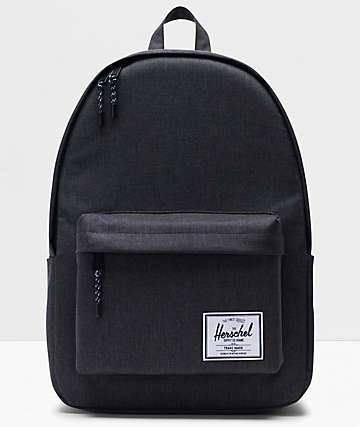 Herschel Supply Co. Classic XL Black Crosshatch Backpack