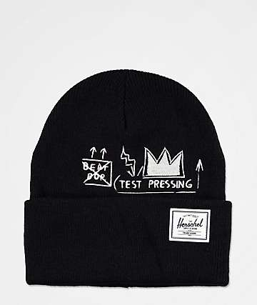 Herschel Supply Co. Elmer Basquiat Beat Bop Black Beanie