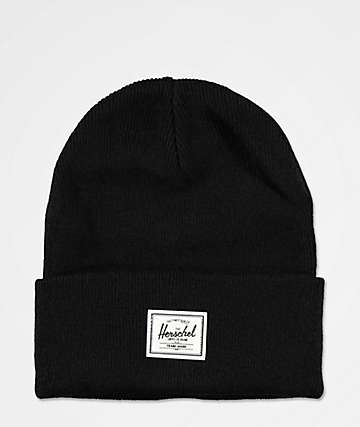 Herschel Supply Co. Elmer Black Beanie