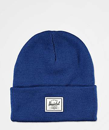 Herschel Supply Co. Elmer Monaco Blue Beanie