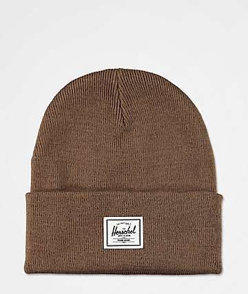 Herschel Supply Co. Elmer Saddle Brown Beanie