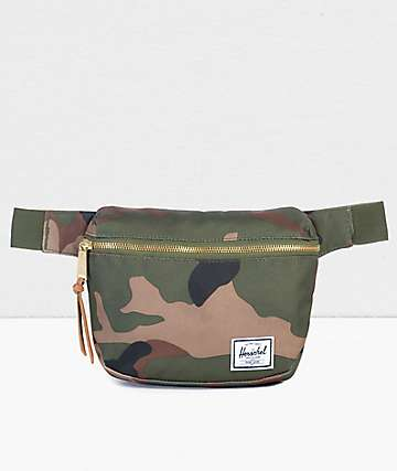 Herschel Supply Co. Fifteen Woodland Camo Fanny Pack