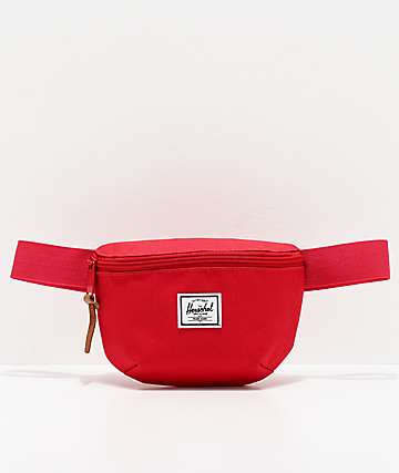 Herschel Supply Co. Fourteen Red Fanny Pack