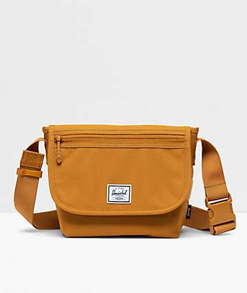 Herschel Supply Co. Grade Mini Buckthorn Brown Crossbody Bag