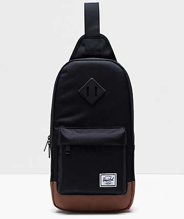 Herschel Supply Co. Heritage Black Shoulder Bag