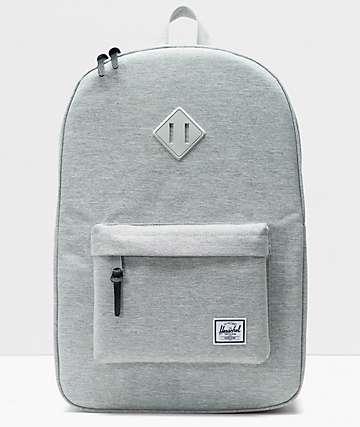 Herschel Supply Co. Heritage mochila gris claro