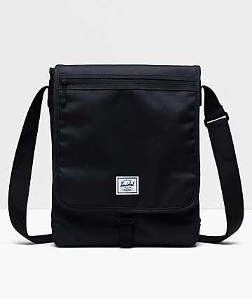 Herschel Supply Co. Lane Messenger Black Crossbody Bag