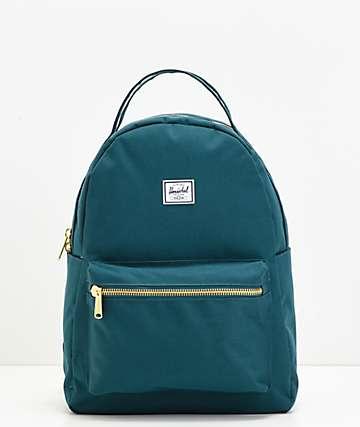 Herschel Supply Co. Nova Mid Deep Teal Backpack