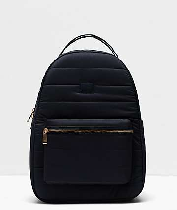 Herschel Supply Co. Nova Mid Quilted Black Backpack