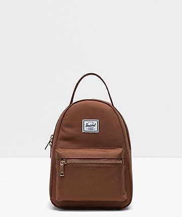 Herschel Supply Co. Nova Saddle Brown Mini Backpack