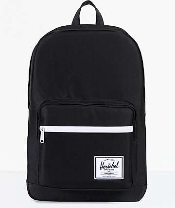 Herschel Supply Co. Pop Quiz Black & Black 22L Backpack