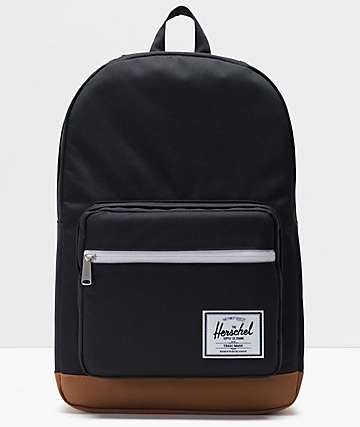 Herschel Supply Co. Pop Quiz Black & Saddle mochila