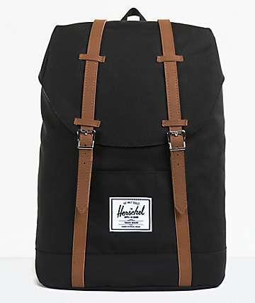 Herschel Supply Co. Retreat Black Backpack