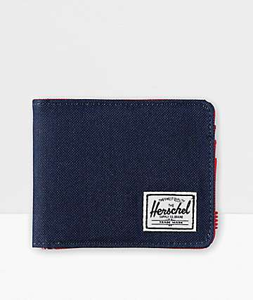 Herschel Supply Co. Roy Navy & Red Bifold Wallet