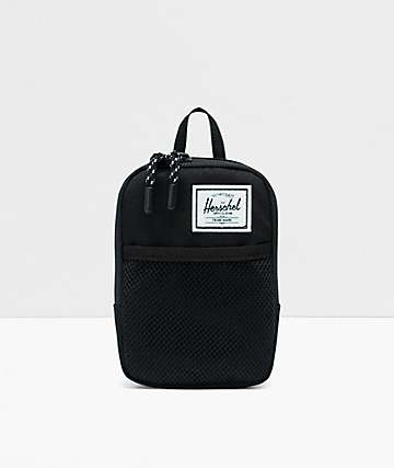 Herschel Supply Co. Sinclair Small Form Black Crossbody Bag