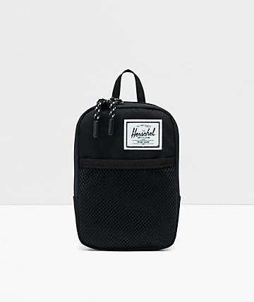 Herschel Supply Co. Sinclair Small Form Black Crossbody Bag