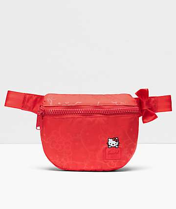 Herschel Supply Co. x Hello Kitty 45th Anniversary Fifteen Red Fanny Pack
