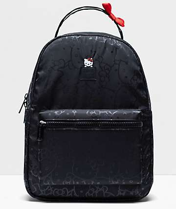 Herschel Supply Co. x Hello Kitty 45th Anniversary Nova Mid Black Backpack