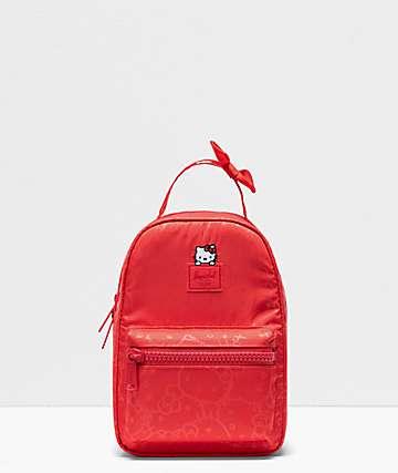 Herschel Supply Co. x Hello Kitty 45th Anniversary Nova Red Mini Backpack