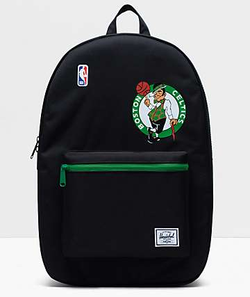 Herschel Supply Co. x NBA Boston Celtics Settlement Black & Green Backpack