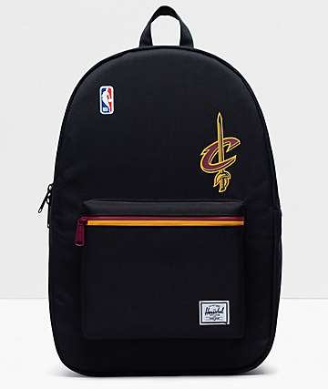 Herschel Supply Co. x NBA Cleveland Cavaliers Settlement Black, Yellow & Burgundy Backpack