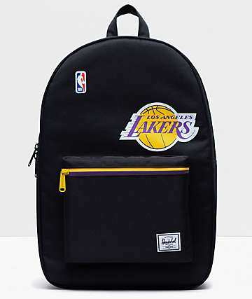 Herschel Supply Co. x NBA L.A. Lakers Settlement Black Backpack