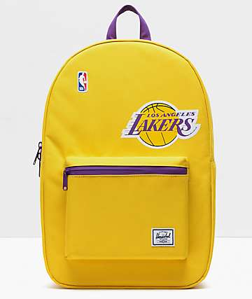 Herschel Supply Co. x NBA L.A. Lakers Settlement Gold & Purple Backpack