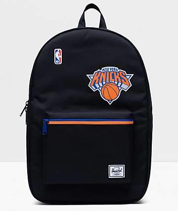 Herschel Supply Co. x NBA NY Knicks Settlement Black, Blue & Orange Backpack