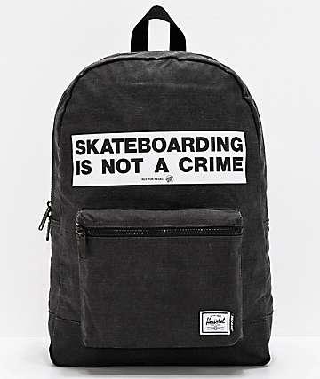 Herschel Supply Co. x Santa Cruz Daypack Black Backpack