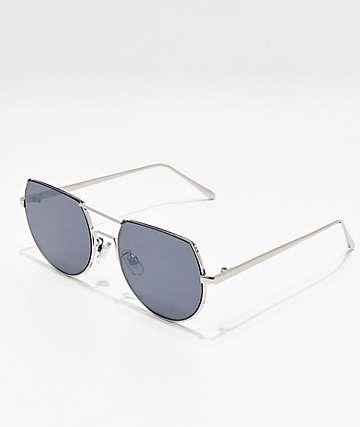 Hi Fidelity Silver Mirror Sunglasses