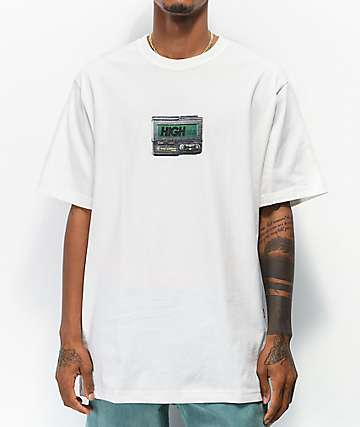 High Company Beeper White T-Shirt