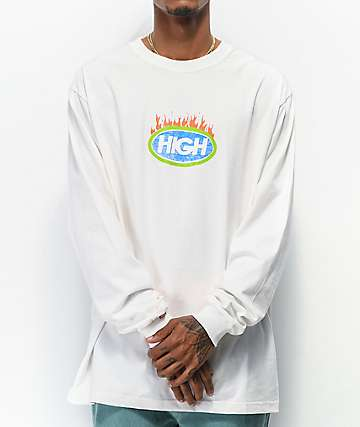 High Company Fuego White Long Sleeve T-Shirt