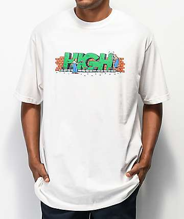 High Company Plant White T-Shirt